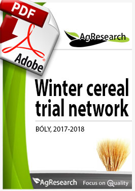 Winter cereal trial network - Download our brochure